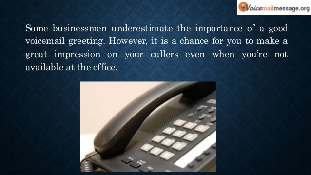 Cool voicemail greetings for your business cool voicemail greetings for your business 2 m4hsunfo