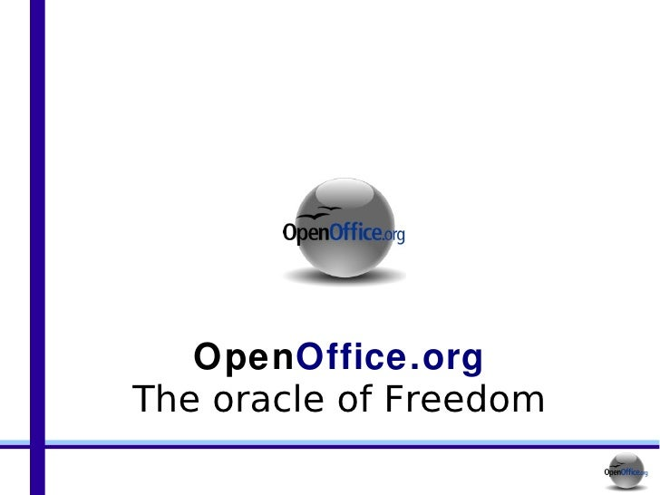 Open Office.org The oracle of Freedom
