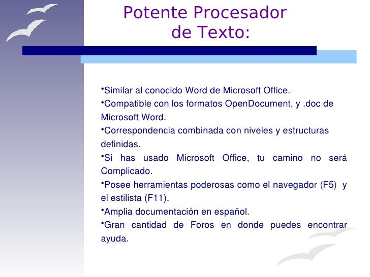 OpenOffice.org... la Alternativa