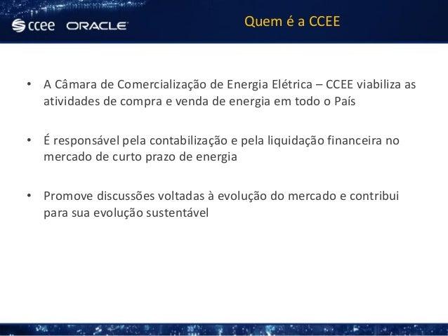 Oracle Open World - Portal CCEE Slide 2