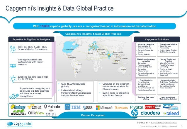 Business Data Lake Best Practices