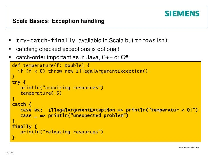 Scala Basics: for Comprehensions (1)<br />A for comprehension is like a for loop. It lets you traverse a collection, retur...