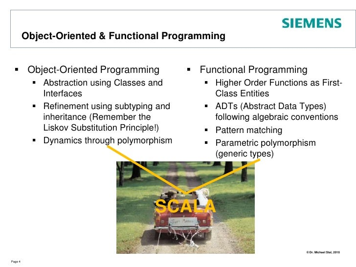 Object-Oriented & Functional Programming<br />Object-Oriented Programming<br />Abstraction using Classes and Interfaces<br...
