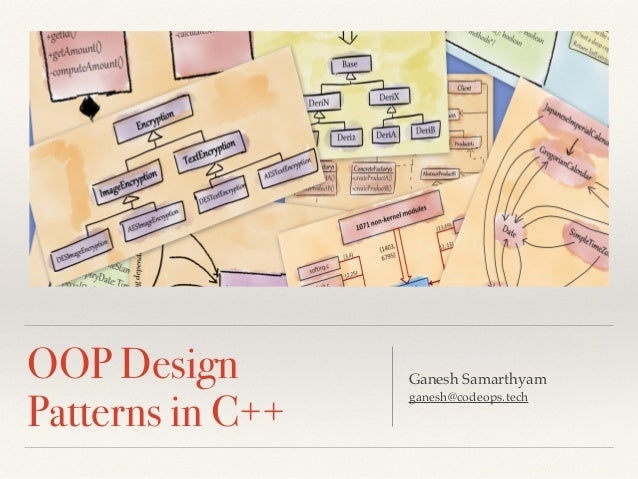 OO Design and Design Patterns in C++