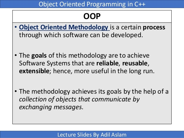 C++ Object Oriented - Tutorials Point