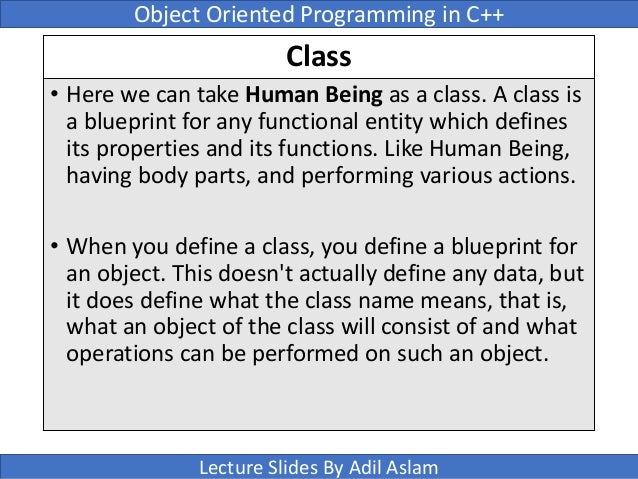 Object oriented programming using c slides 15 class malvernweather Image collections