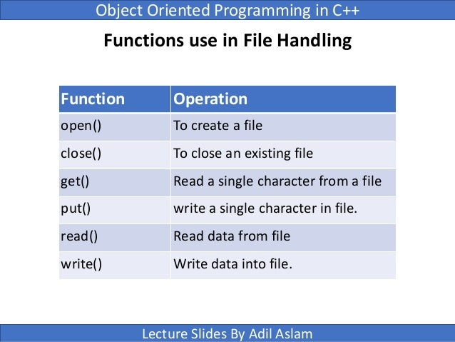 C++ program to write and read text in/from file