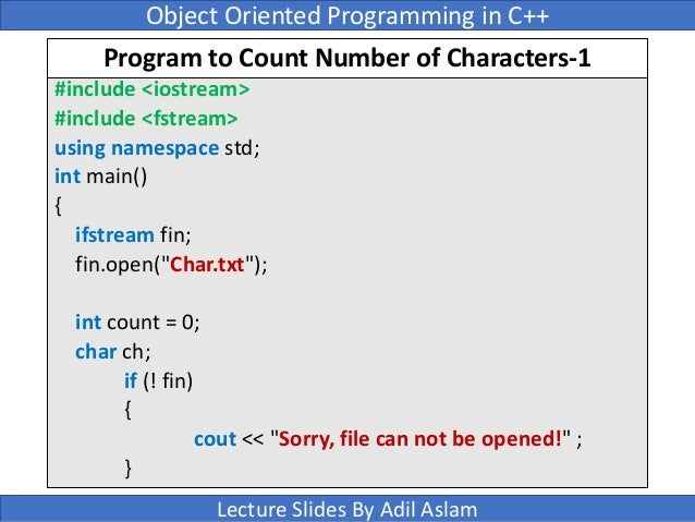 c program to read a file character by character and display it