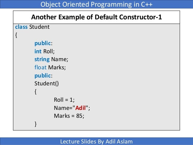 how to call parameterized constructor from default constructor in java