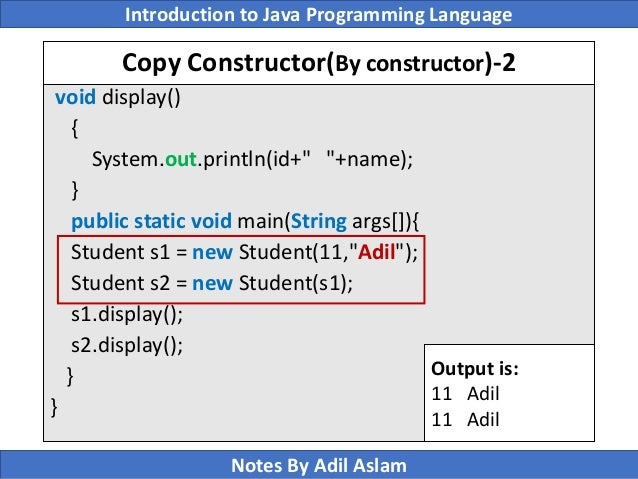 Constructor ppt.