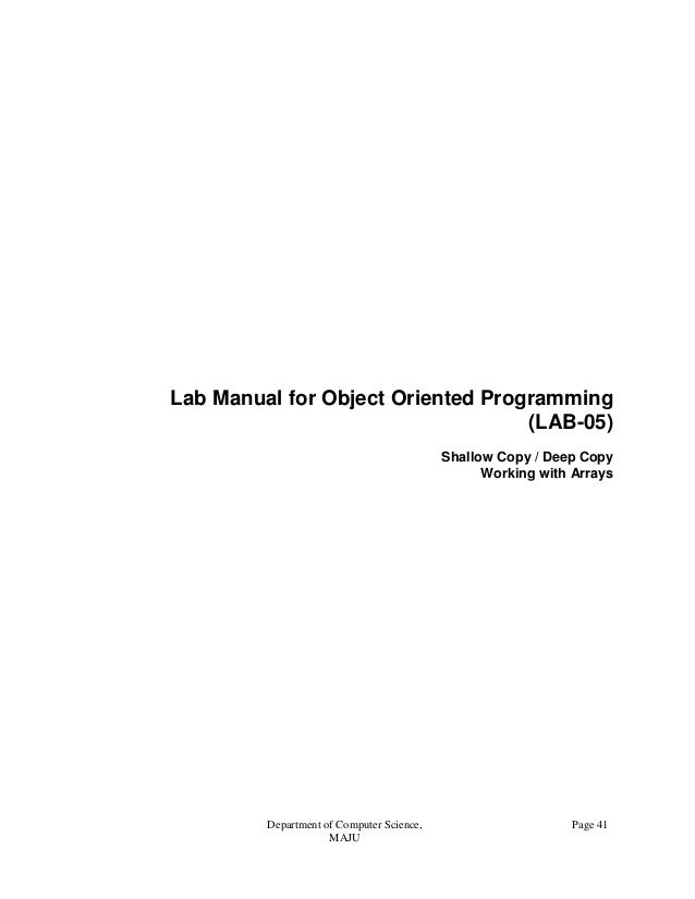object oriented programming and marks 5 different subject marks in array write a c++ program to create object for the union to access these and print it0223-object oriented programming lab { { }.