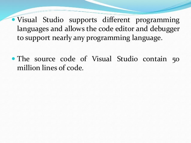 Features: 1) Code editor:  Like any other IDE, it includes a code editor that supports syntax highlighting and code compl...