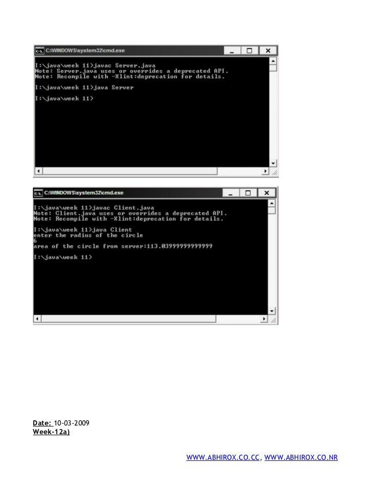 how to run java simple program