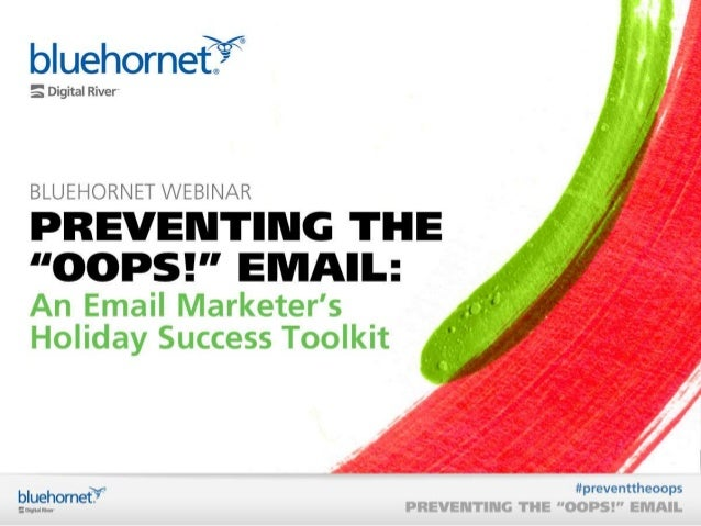 """Preventing the """"Oops!"""" Email"""