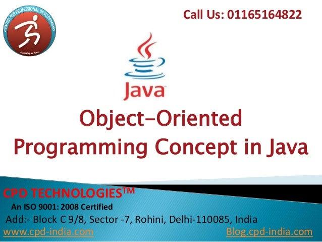 Java Oops Concepts Pdf