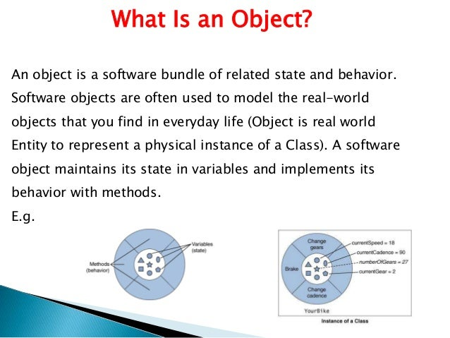 Oops concept in java object oriented programming in java 4 what is an object malvernweather Choice Image