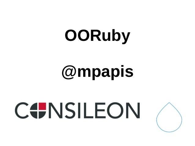 OORuby @mpapis