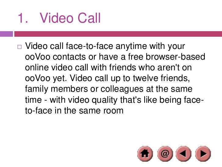 Oovoo free online