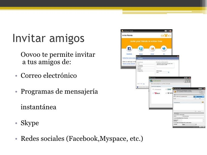 Diferencias entre ooVoo y Skype• Oovoo te permite hacer video conferencias de hasta 12 personas mientras que skype es solo...