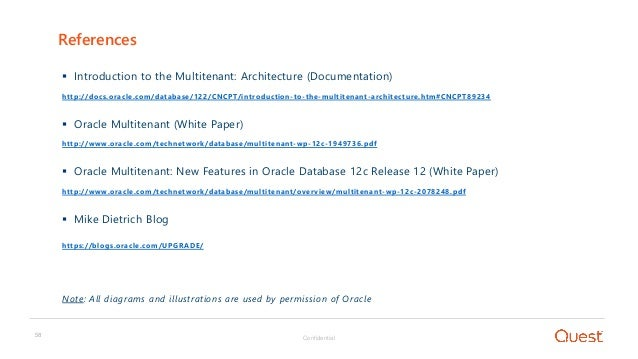 OOW 17 - database consolidation using the oracle multitenant architec…