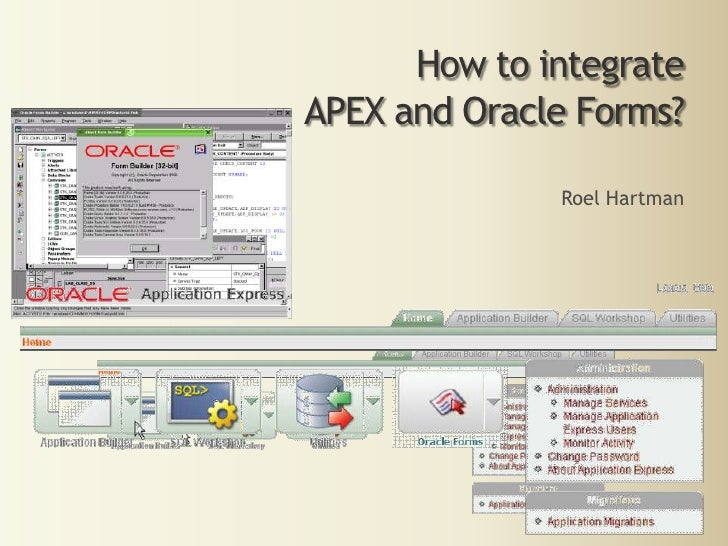 Integration of APEX and Oracle Forms