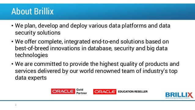 OOW2016: Exploring Advanced SQL Techniques Using Analytic Functions Slide 3