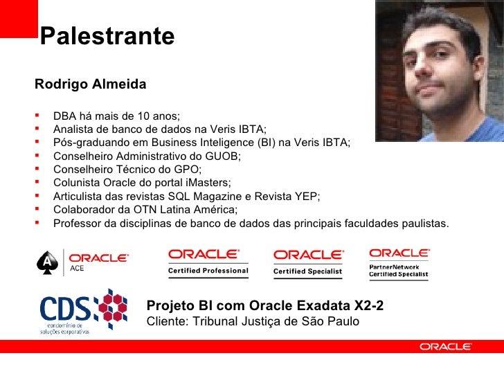 DBA became DMA for Oracle Exadata X2-2 Slide 3