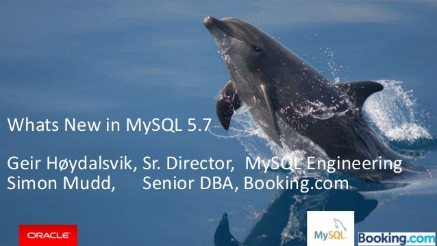 Copyright © 2015, Oracle and/or its affiliates. All rights reserved. | Whats New in MySQL 5.7 Geir Høydalsvik, Sr. Directo...