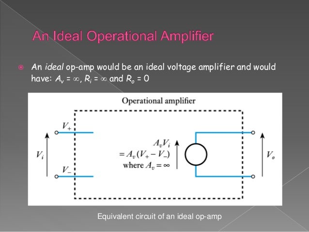 Presentation on Op-amp by Sourabh kumar