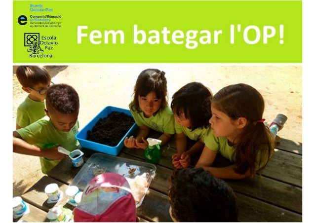 l'escola activa i globalitzadora pluralista i inclusiva innovadora oberta participativa