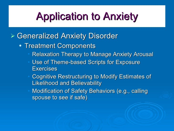 a comparison of generalized anxiety disorder Difference between anxiety and schrizophrenia ocd and did are anxiety disorders, and extreme anxiety can lead to reckless and self-destructive behavior.