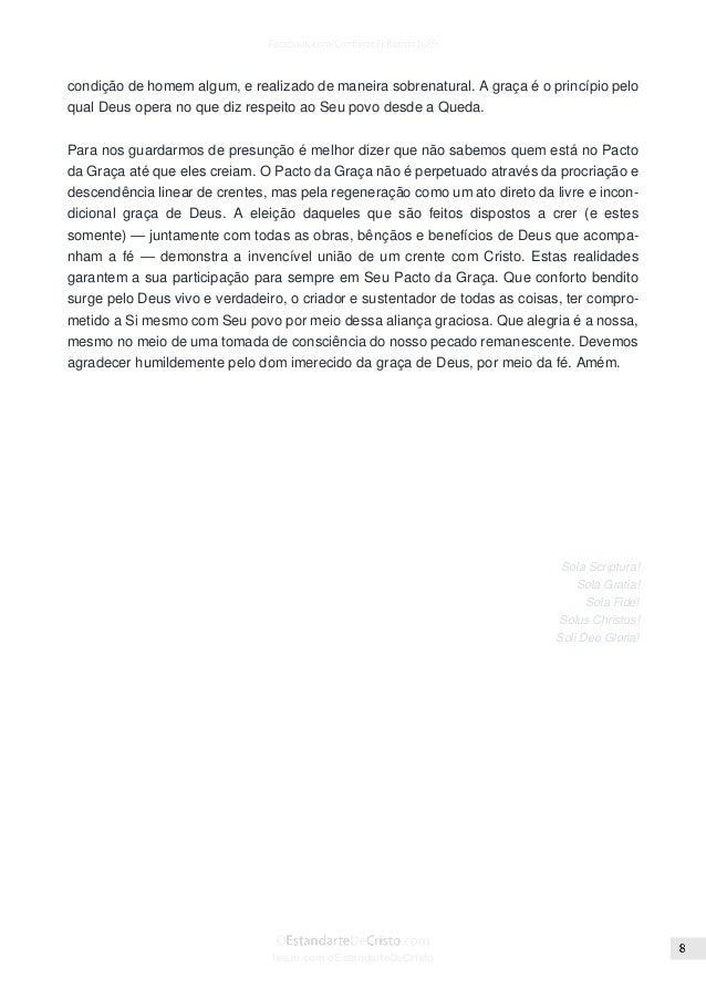 O pacto da graça mike renihan (carta circular 2001 arbca)