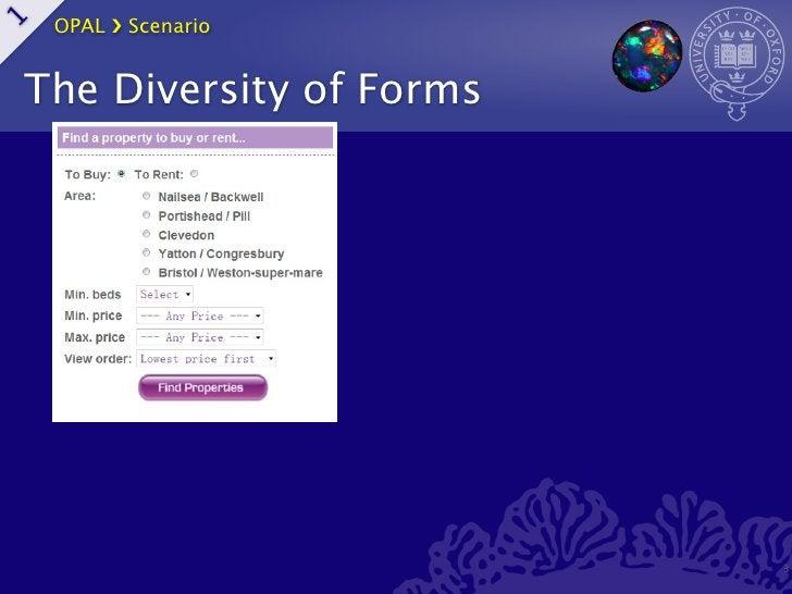 OPAL ›❯ Scenario1    The Diversity of Forms                             3