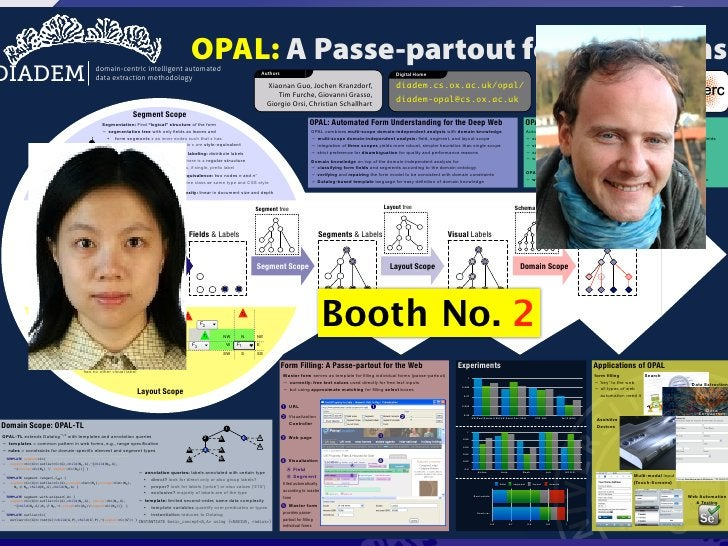 OPAL: automated form understanding for the deep web - WWW 2012