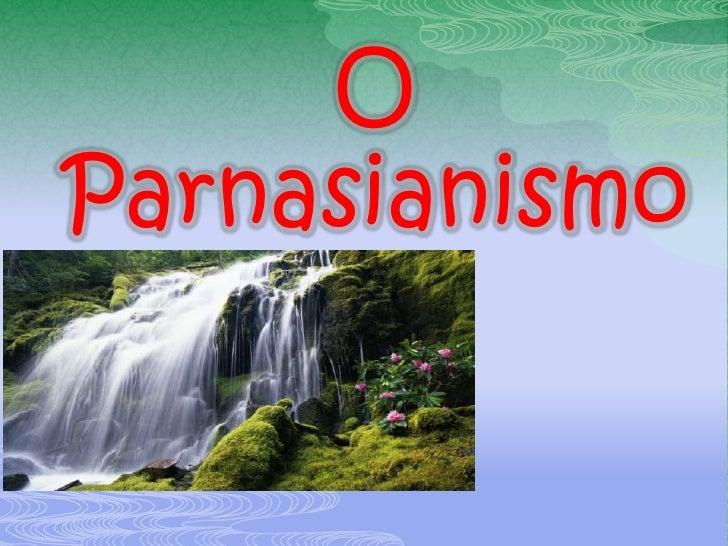 OParnasianismo