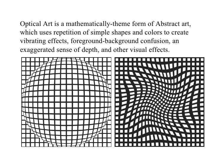 Op Art – Op Art Worksheet