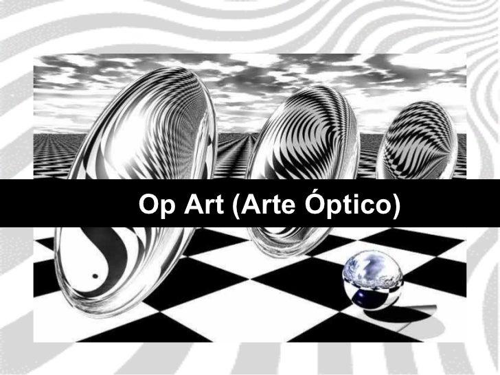 Op Art (Arte Óptico)