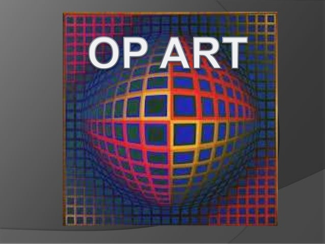 Op Art is a movement from the 1960s which used precise geometricalpatterns painted in vivid colours or black and white to ...