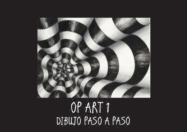 OP ART 1 DIBUJO PASO A PASO