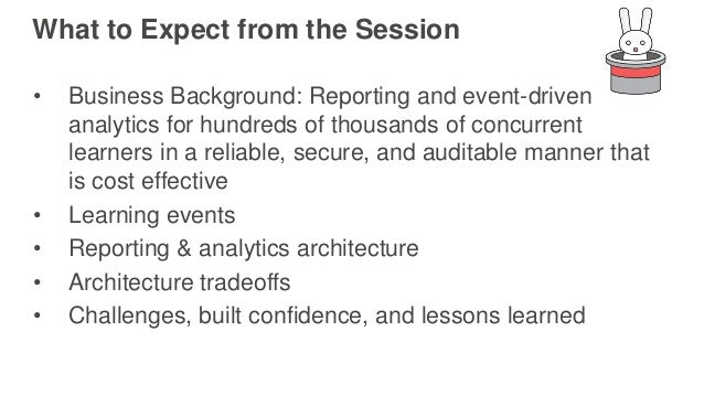 AWS re:Invent 2016: Event Handling at Scale: Designing an Auditable Ingestion and Persistence Architecture for 10K+ events/second (ARC306) Slide 2