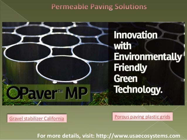O paver mp grid system is the best choice for gravel