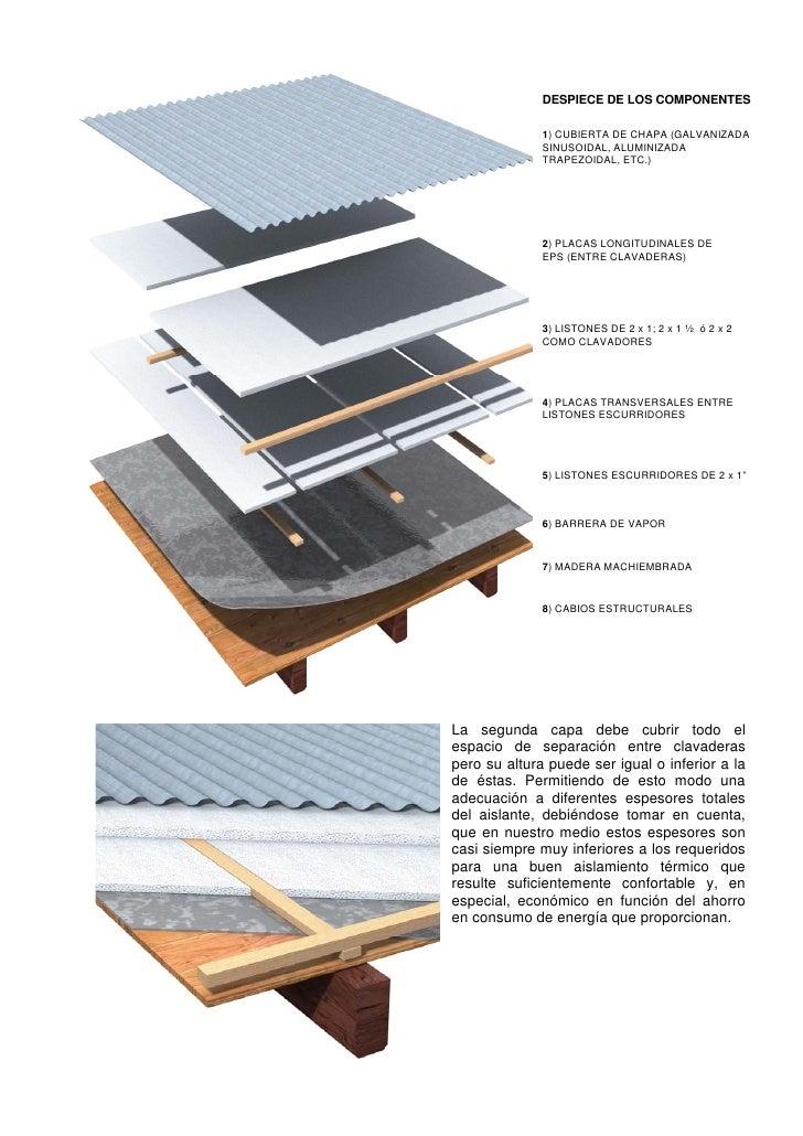 Opciones de aislamiento t rmico de cubiertas - Cubierta chapa galvanizada ...