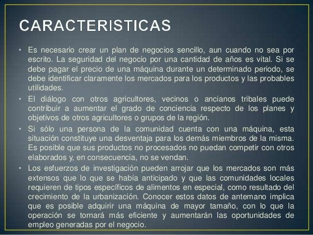• Es necesario crear un plan de negocios sencillo, aun cuando no sea por  escrito. La seguridad del negocio por una cantid...