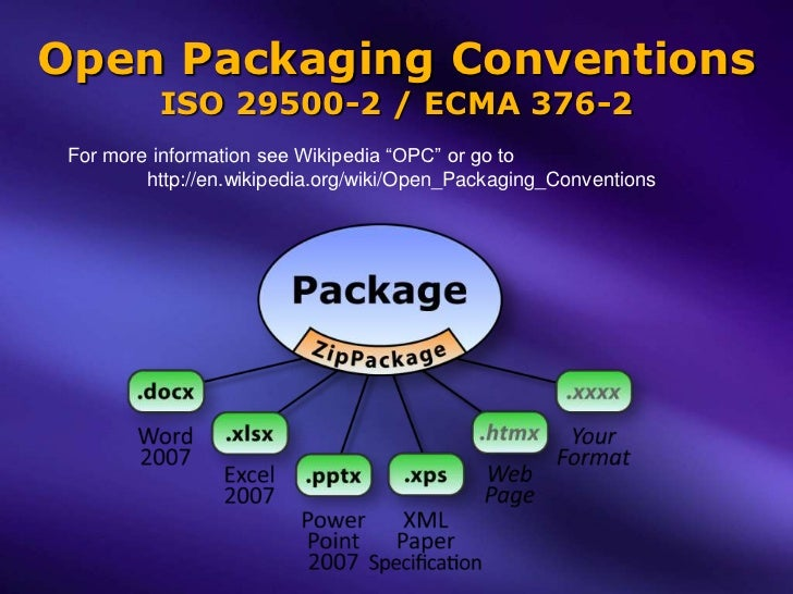 Open Packaging Conventions - Y...