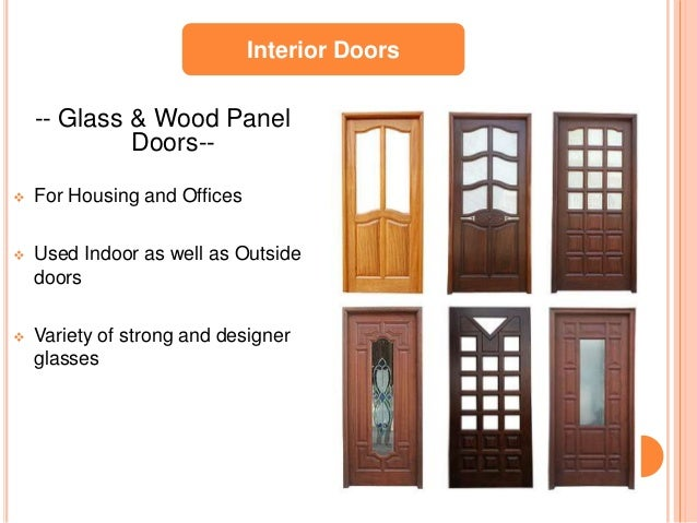Wooden Door Manufacturers