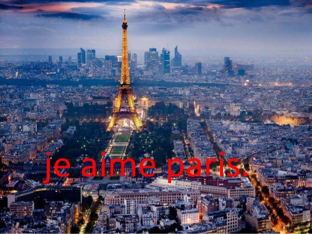 je aime paris.