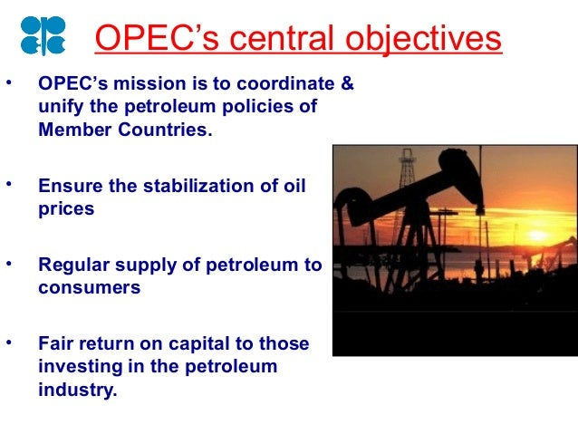 the characteristics of the organization of the petroleum exporting countries 2010-2-26  characteristics of a successful cartel  the organization of the petroleum exporting countries  countries supported by opec.