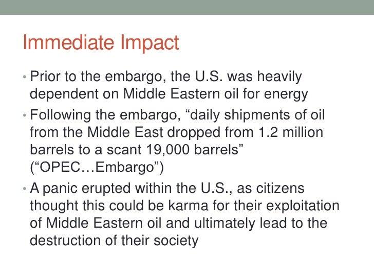 Oil embargo of 1973