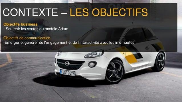 Opel adam   recommandation Slide 3