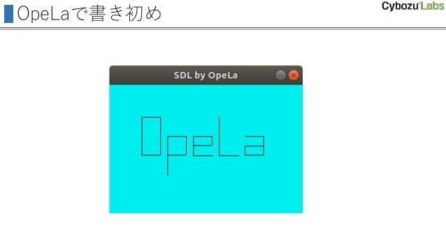 OpeLaで書き初め